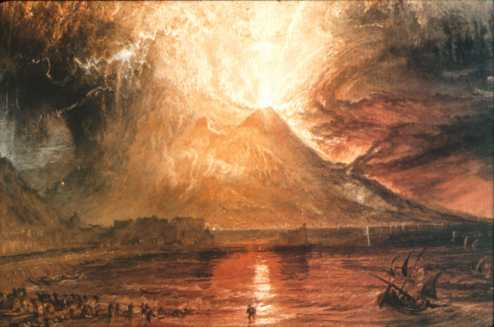 William Turner, Uitbarsting van de Vesuvius