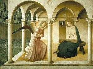 Fra Angelico, Annunciatie, Florence, 1450